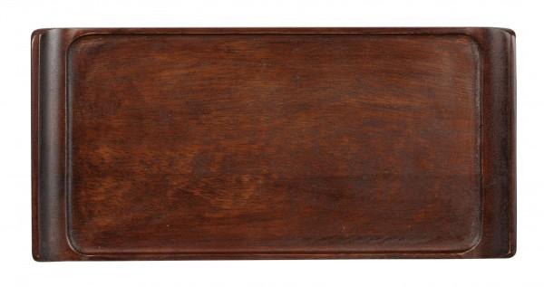 "Wood Rectangular Tray 11 3/4"" X 5 3/4"" 6/box"