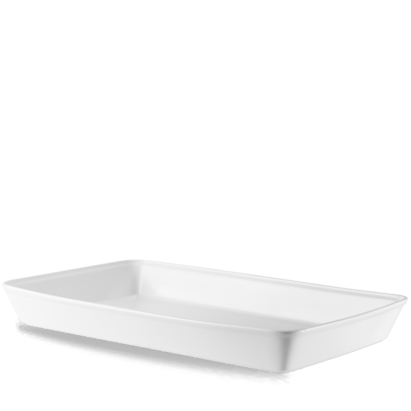 "White Cookware Rectangle Baking Dish 21X13X2.5"" Box 2"