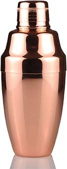 Yukiwa Cocktailshaker rose gold 500 ml