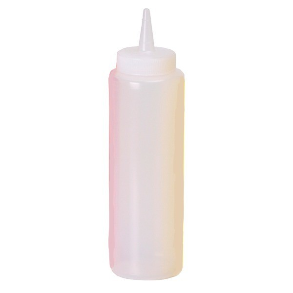 Squeeze Bottle small clear 236 ml