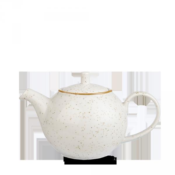 Stonecast White Speckle Profile Beverage Pot 15Oz Box 4
