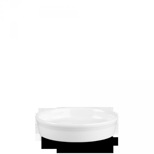 White Mezze Dish 9Oz 12/box