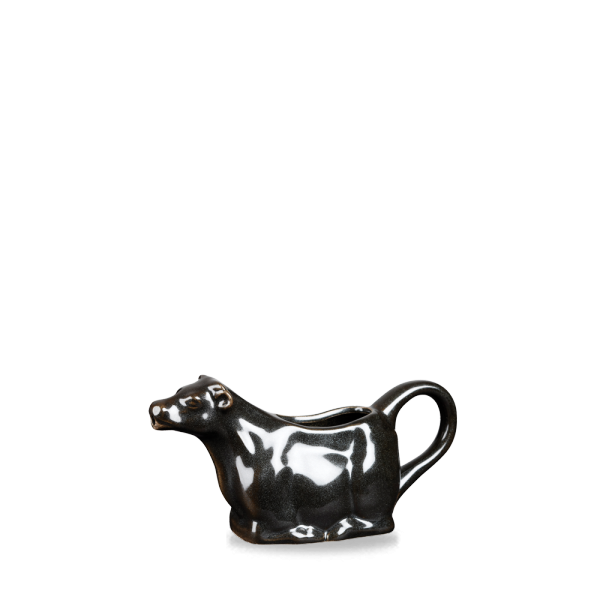 Metallic Black Bit On The Side Cow Jug 5Oz 6/box