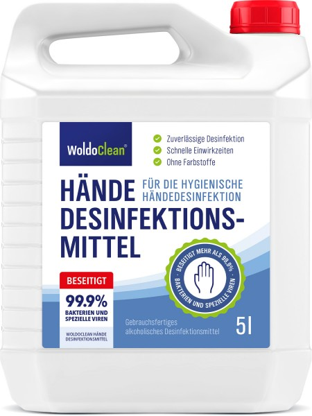 WoldoClean Desinfectiemiddel 5 liter