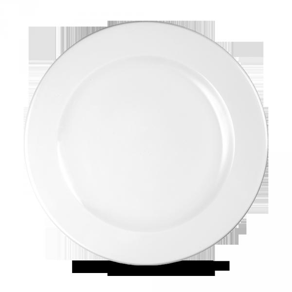 """White Profile Plate 10.875"""" 12/box"""