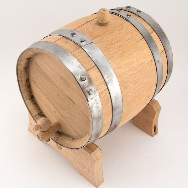 Wooden Barrel 1 liter