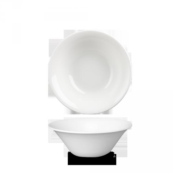 "White Med Small Salad Bowl 6.5"" 12/box"