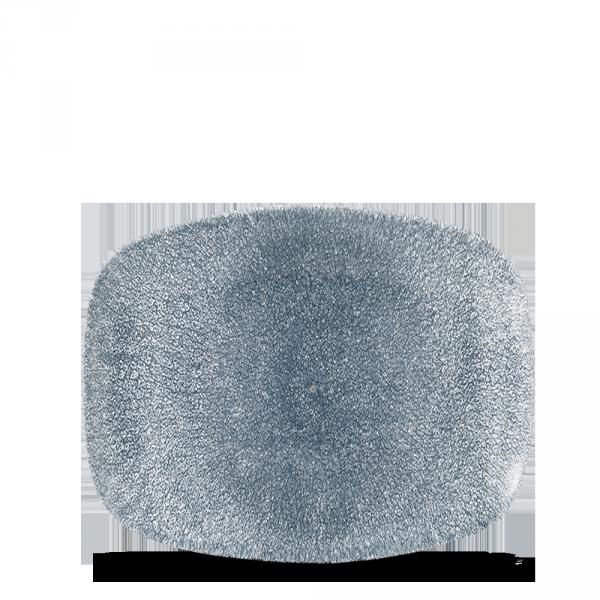 TOPAZ BLUE OBLONG PLATE