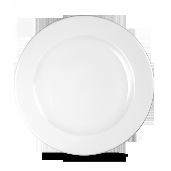 """White Profile Plate 10 1/4"""" 12/box"""