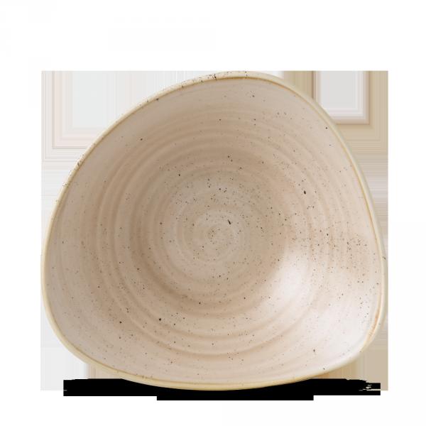 "Stonecast Nutmeg Cream Lotus Bowl 9"" 12/box"