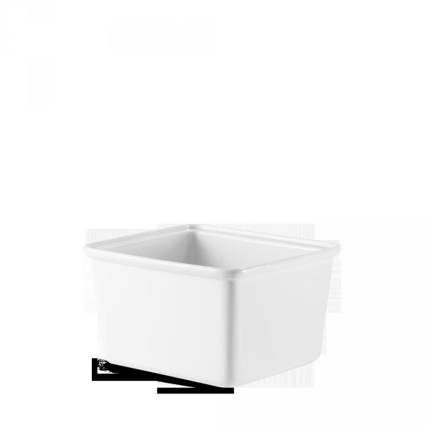 "White Cookware Rectangle Casserole Dish 7"" 4/box"