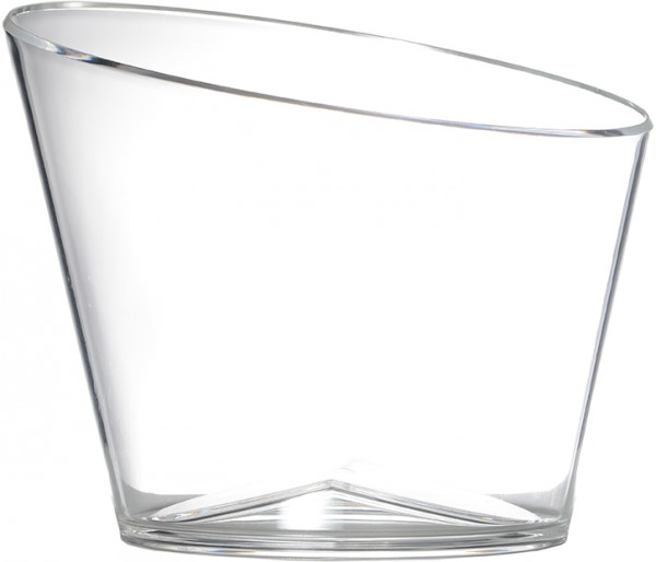 APS bottle cooler acrylic clear large