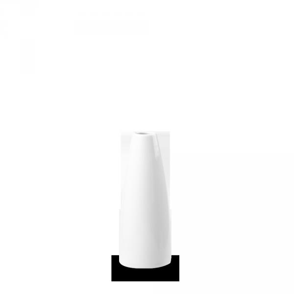 """White Profile Bud Vase 5"""" 6/box"""