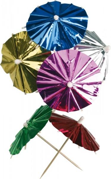 Foil Umbrellas 8 cm