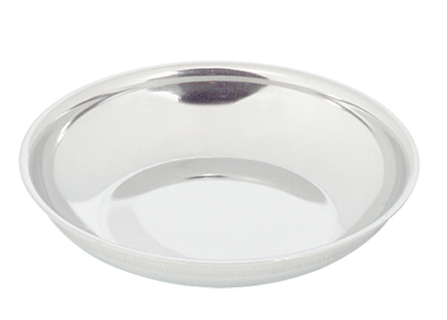 Suiker-slagroomschaaltje RVS 10 cm