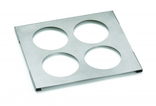 Squeeze Bottle Template holds up to (4) 53mm diameter bottle